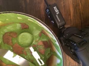 Edible Tulsa savory souflee remains